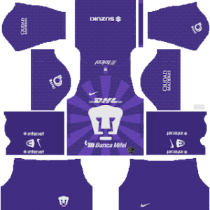 Pumas UNAM Goalkeeper Home Kit