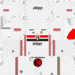 Sao Paulo FC Kits 2019/2020 Dream League Soccer