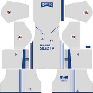Suwon Bluewings Kits 2019/2020 Dream League Soccer