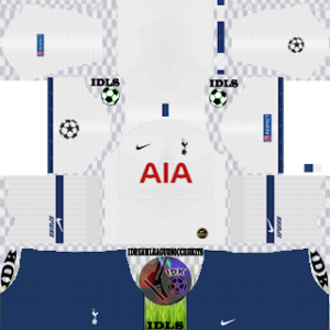Tottenham Hotspur UCL Home Kit