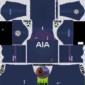 Tottenham Hotspur UCL Away Kit