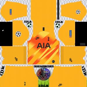 Tottenham Hotspur UCL Goalkeeper Away Kit