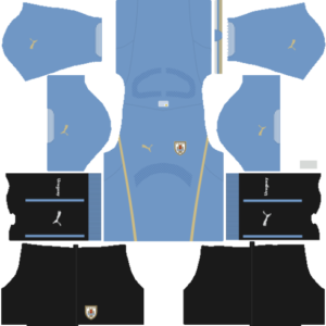 Uruguay Kits 2015/2016 Dream League Soccer