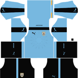 Uruguay Kits 2016/2017 Dream League Soccer