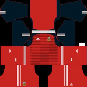 Argentina World Cup 2018 Goalkeeper Home Kit