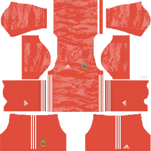 Argentina Goalkeeper Home Kit