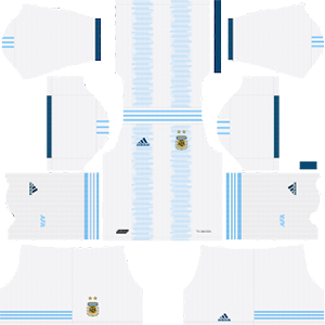 Argentina Home Kit (White Shorts)