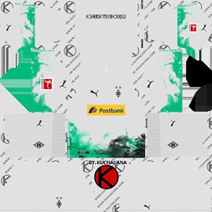 Borussia Monchengladbach Goalkeeper Home Kit