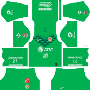 Club America Goalkeeper Home Kit
