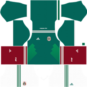 Mexico World Cup Kits 2018 Dream League Soccer