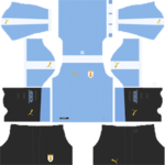 Uruguay Kits 2019/2020 Dream League Soccer