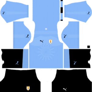Uruguay World Cup Kits 2018 Dream League Soccer