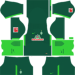 SV Werder Bremen Kits 2017/2018 Dream League Soccer