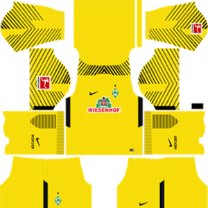 SV Werder Bremen Goalkeeper Home Kit