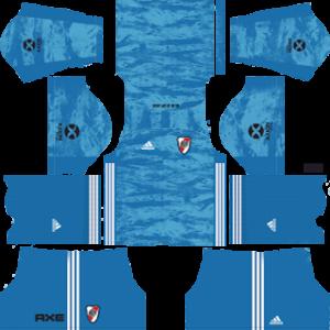 River Plate Goalkeeper Home Kit