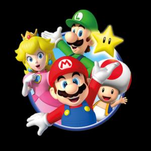 Super Mario Dream League Soccer Logos