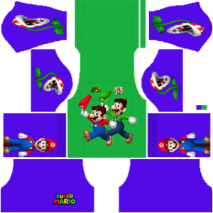 Super Mario Goalkeeper Home Kit