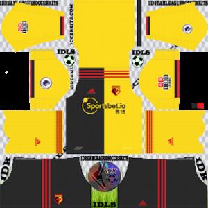 Watford FC Kits 2020 Dream League Soccer
