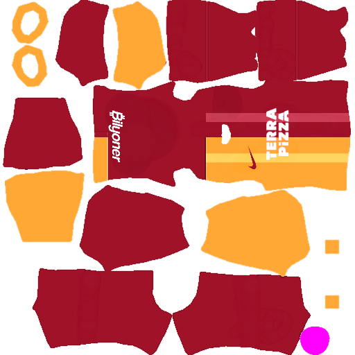 Galatasaray S.K. Kits 2020 Dream League Soccer