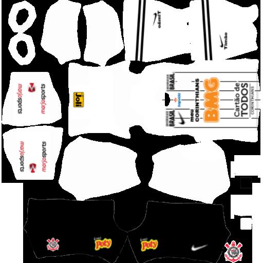 Corinthians Kits 2020 Dream League Soccer