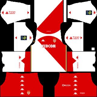 AS Monaco FC DLS 2021 Kits