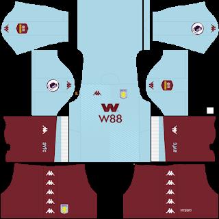 Aston Villa FC Away Kit