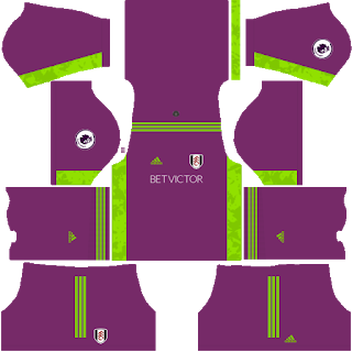 Fulham FC Goalkeeper Away Kit