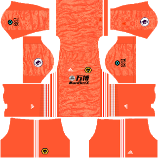 Wolverhampton Wanderers FC Goalkeeper Away Kit
