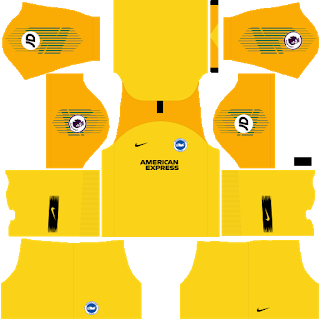 Brighton & Hove Albion Goalkeeper Away Kit