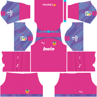 Valencia CF Goalkeeper Away Kit