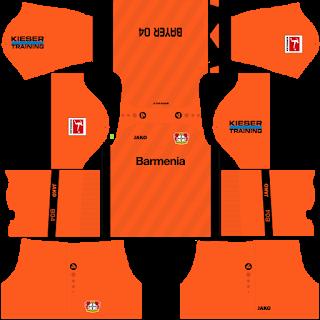 Bayer Leverkusen Goalkeeper Away Kit