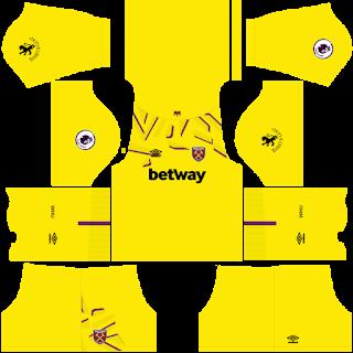 West Ham United Goalkeeper Away Kit