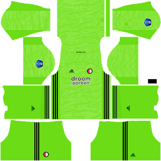 Feyenoord Goalkeeper Away Kit