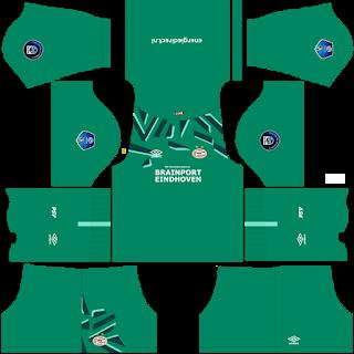 PSV Eindhoven Goalkeeper Away Kit