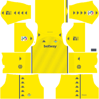 Real Betis Goalkeeper Away Kit