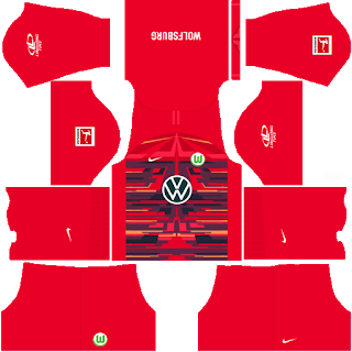 VfL Wolfsburg Goalkeeper Away Kit