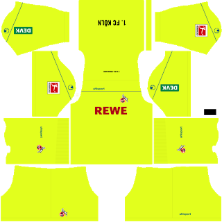 FC Köln Goalkeeper Away Kit