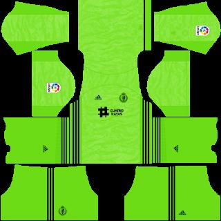 Real Valladolid Goalkeeper Home Kit