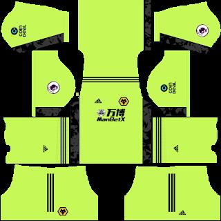 Wolverhampton Wanderers FC Goalkeeper Home Kit