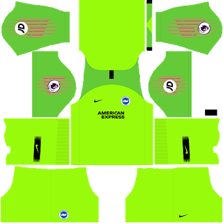 Brighton & Hove Albion Goalkeeper Home Kit