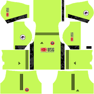 Sheffield United FC Goalkeeper Home Kit