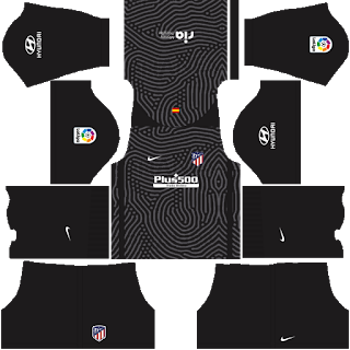 Atletico Goalkeeper Home Kit