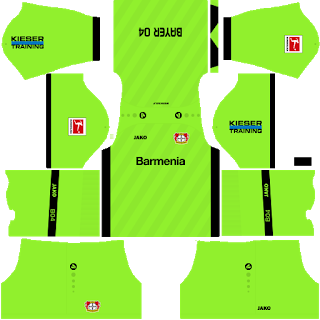 Bayer Leverkusen GoalkeeperHome Kit