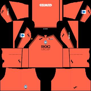 Atalanta BC DLS Kits 2021 - Dream League Soccer Kits 2021