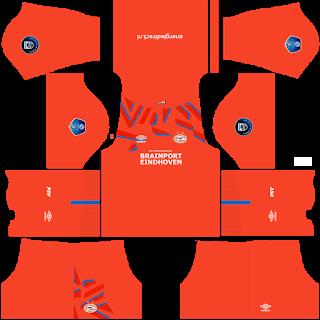 PSV Eindhoven Goalkeeper Home Kit