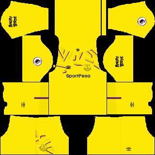 Everton FC Goalkeeper Home Kit