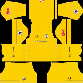 Southampton FC Goalkeeper Home Kit