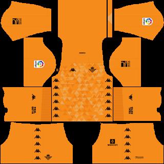 Real Betis Goalkeeper Home Kit