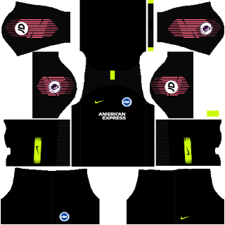 Brighton & Hove Albion Goalkeeper Third Kit