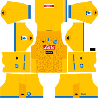 Napoli Goalkeeper Third Kit